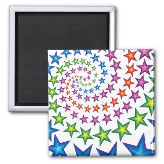 vivid star spirals magnet