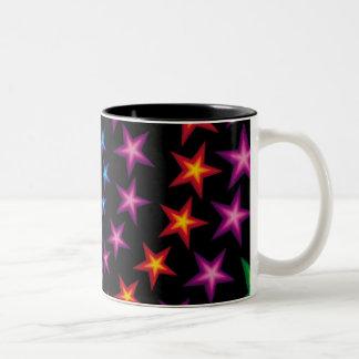vivid stars composition mug