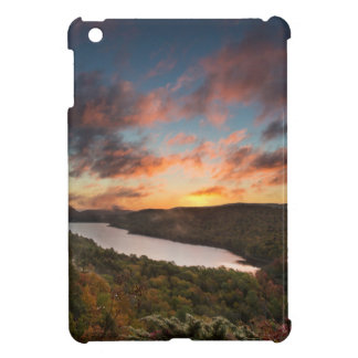 Vivid Sunrise Over Lake Of The Clouds In Autumn iPad Mini Case