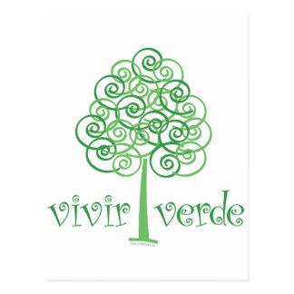 Vivir Verde Postcard