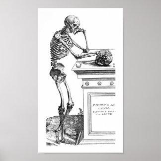 Vivitur Ingenio - Skeleton Poster