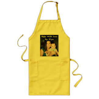 viya apron, Made With Love By Viya Long Apron