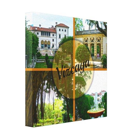 Vizcaya Museum and Botanical Garden Miami Florida Canvas Print