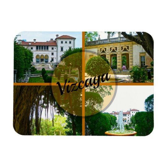 Vizcaya Museum and Botanical Garden Miami Florida Rectangular Photo Magnet