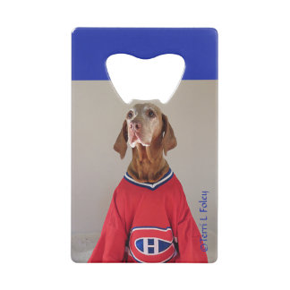 Vizsal Montreal Canadians Hockey Bottle Opener