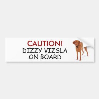 VIZSLA - bumper sticker
