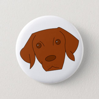 Vizsla button