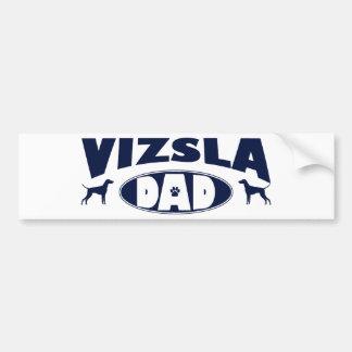 Vizsla Dad Bumper Sticker