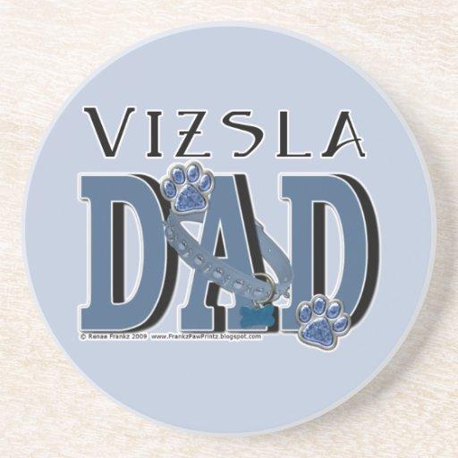 Vizsla DAD Drink Coasters