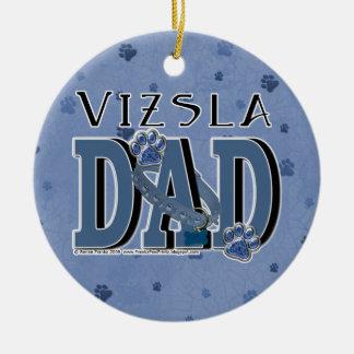 Vizsla DAD Christmas Ornaments