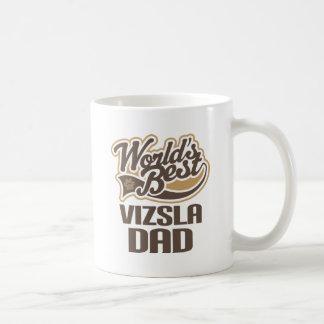 Vizsla Dad (Worlds Best) Basic White Mug