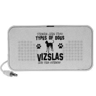 Vizsla dog breed designs PC speakers