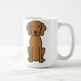 Vizsla Dog Cartoon Coffee Mug