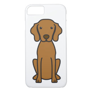 Vizsla Dog Cartoon iPhone 7 Case
