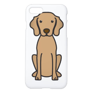 Vizsla Dog Cartoon iPhone 7 Case