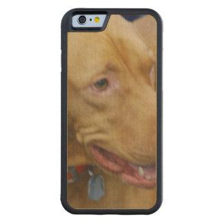 Vizsla Dog Carved® Maple iPhone 6 Bumper Case