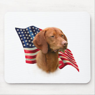 Vizsla Flag Mouse Pad