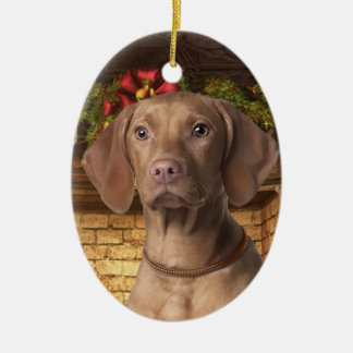 Vizsla Holiday Ornament