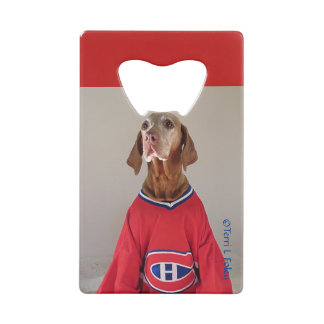 Vizsla Montreal Canadians Hockey Bottle Opener