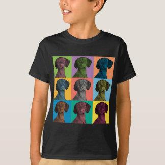 Vizsla Pop-Art T-Shirt