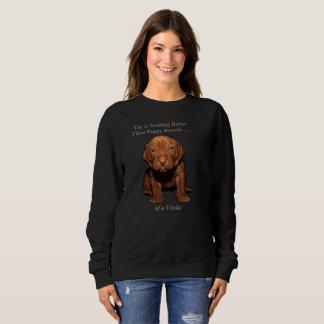 Vizsla Puppy Sweatshirt