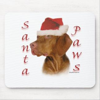 Vizsla Santa Paws Mouse Mat