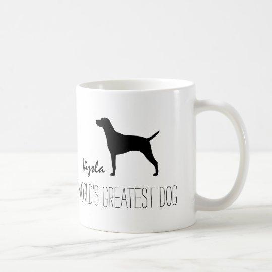 Vizsla Silhouette World's Greatest Dog Coffee Mug