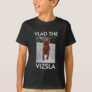 Vizsla T-shirt - dark colours only