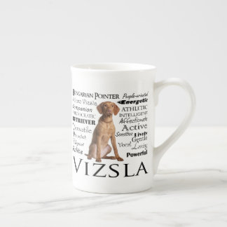 Vizsla Traits Bone China Mug