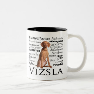 Vizsla Traits Mug