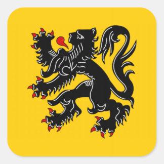 Vlaanderen (Flanders) Stickers
