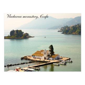 Vlacherna monastery postcard