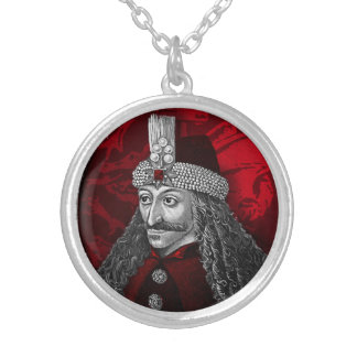 Vlad Dracula Gothic Silver Plated Necklace