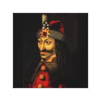 Vlad sods (Vlad the Impaled) Canvas Print
