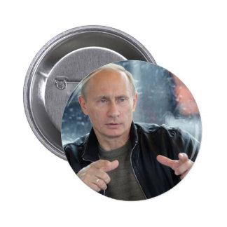 Vladimir Putin 6 Cm Round Badge
