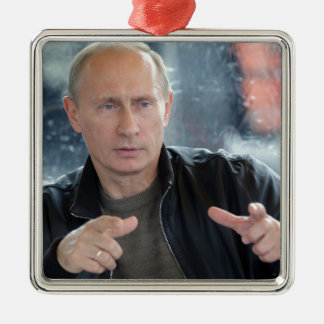 Vladimir Putin Christmas Ornament