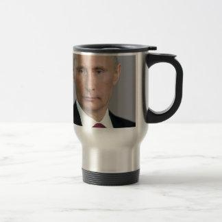Vladimir Putin Gear Stainless Steel Travel Mug
