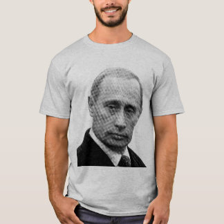 Vladimir Putin (Newspaper Print) T-Shirt