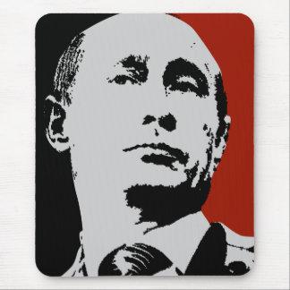Vladimir Putin on Red Mousepad