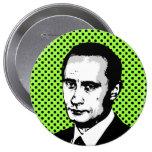 Vladimir Putin Pinback Button