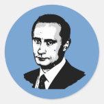Vladimir Putin Round Sticker