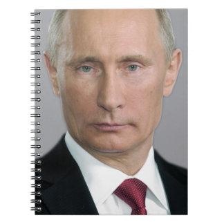 Vladimir Putin Spiral Notebooks