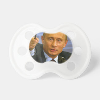 Vladimir Putin wants to give that man a cookie! Pacifiers