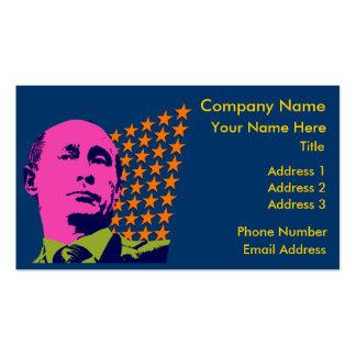 Vladimir Putin with Stars Pack Of Standard Business Cards