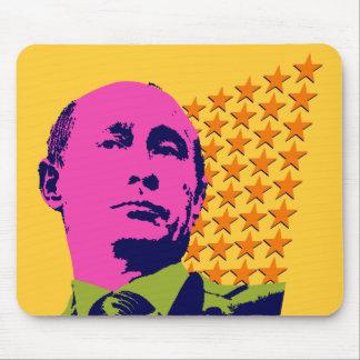 Vladimir Putin with Stars Mouse Pads