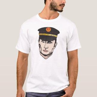 Vladimir Putin with USSR leather hat t-shirt