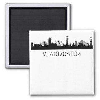 Vladivostok Russia Cityscape Magnet