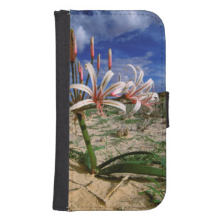 Vlei Lily (Nerine Laticoma) In Flower Samsung S4 Wallet Case