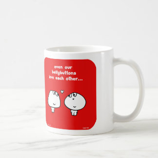 "VM2160 vimrod, bellybuttons, love, valentine, ""eve Coffee Mug"