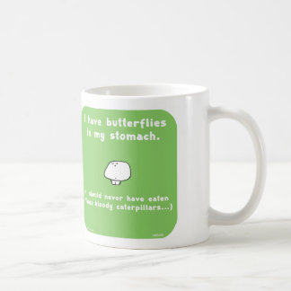 VM5466 vimrod butterflies stomach caterpillars Basic White Mug